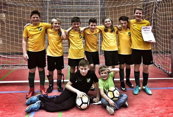 D1-Jugend, Turniersieg in Tutzing
