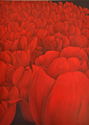 Tulpen 100x140cm