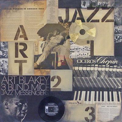 Jazz 80x80cm
