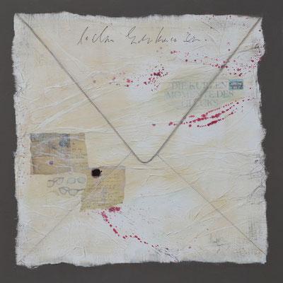 Der Brief 80x80cm