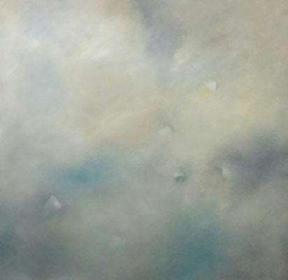 Wie im Himmel 100 x 100 cm