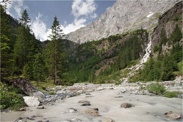 Tschingel-Lütschine, NSG Hinteres Lauterbrunnental, Kanton Bern