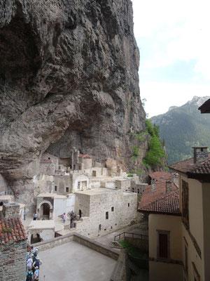 Sümela Kloster in der Türkei