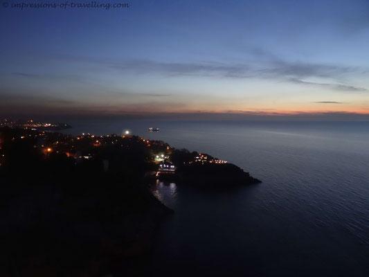 Sonnenuntergang bei Zonguldak