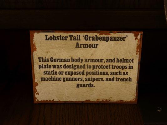 Deutsche Panzerung aus dem 1. Weltkrieg
