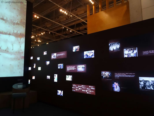 Geschichten von Flüchtlingen im Te Papa Museum in Wellington