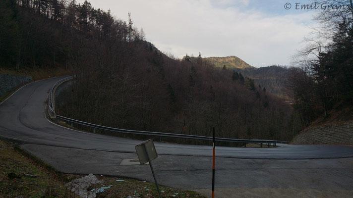 Auffahrt zum Loiblpass