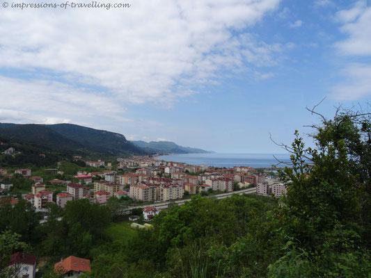 Cide an der türkischen Schwarzmeerküste