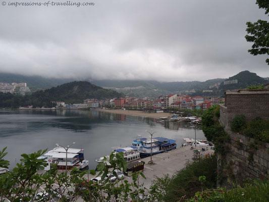 Hafen von Amasra in der Türkei