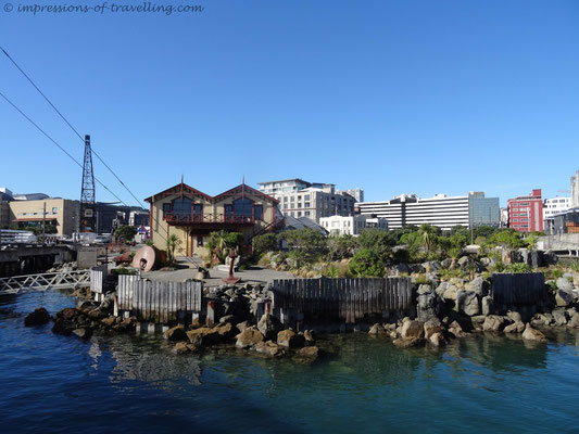 Seeuferpromenade in Wellington