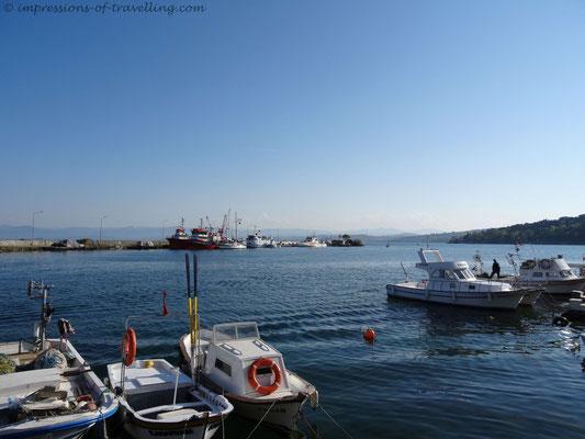 Hafen von Sinop