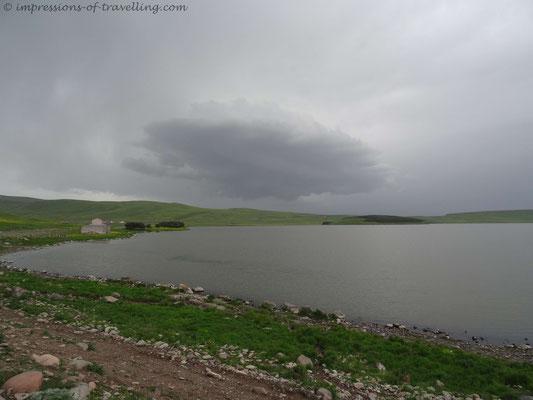 See im Hochland von Georgien