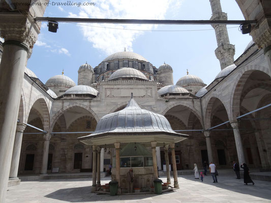 Süleymaniye-Moschee in Istanbul