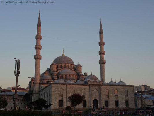 Neue Moschee in Istanbul