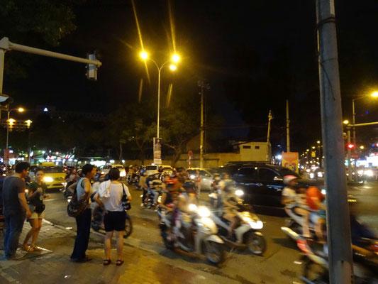 Verkehr in Ho Chih Minh Stadt