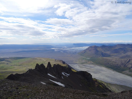 Wanderung im Skaftafell-Nationalpark