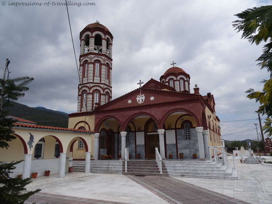 Kirche in Avli/ Griechenland