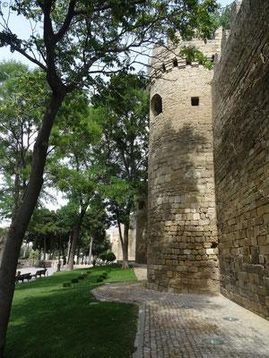 Stadtmauer von Baku