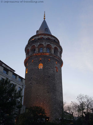 Galataturm in Istanbul