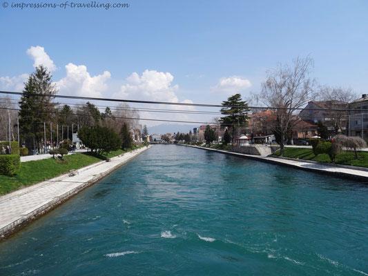 Struga in Mazedonien