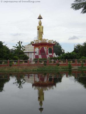 Tempel in der Nähe von Bangkok