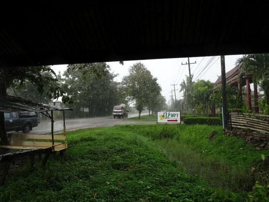 Platzregenschauer