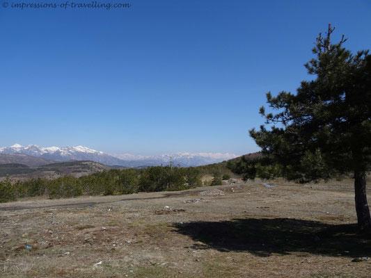 Berge von Albanien
