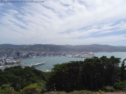 Blick vom Mount Victoria in Wellington