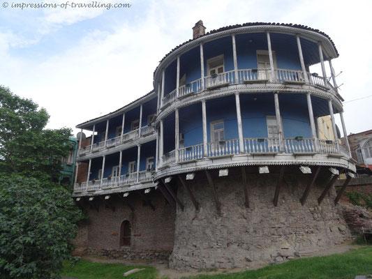 Teile der Stadtmauer von Tiflis