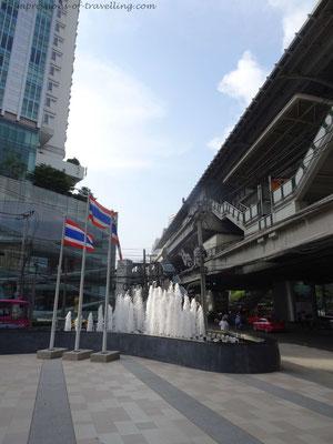 Skytrain in Bangkok
