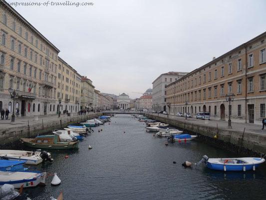 Triest in Italien