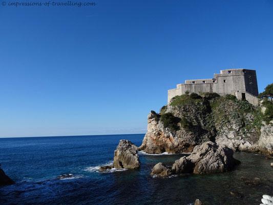 Festung in Dubrovnik