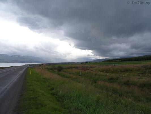 Ringstraße in der nähe von Akureyri