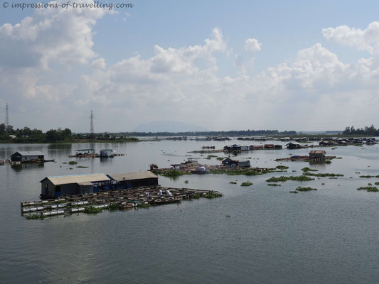 Fluss im Vietnam