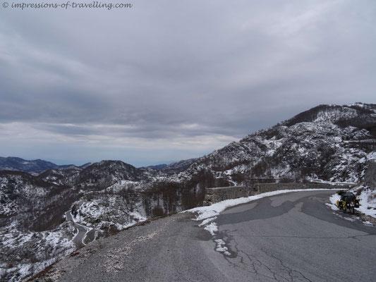 Pass von Kotor nach Cetenje