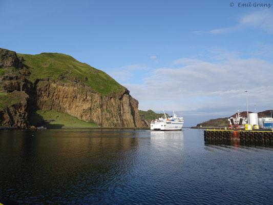 Hafeneinfahrt auf den Westmännerinseln