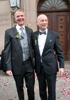 "Gay Wedding ""Black & White"" 