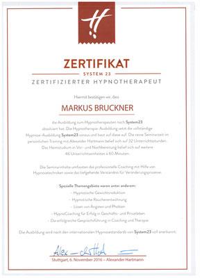 Zertifizierter Hypnotherapeut