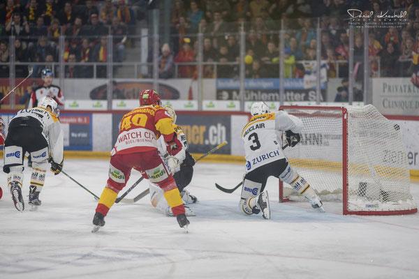 KW14: Eishockey Playoff Halbfinal EHC Biel - HC Lugano, aufgenommen mit der Nikon D850