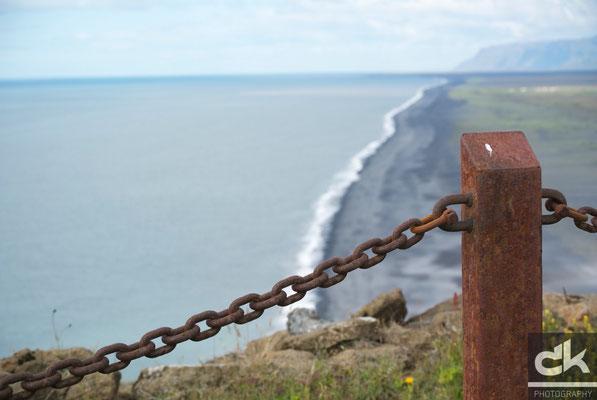 Dyhólaey - Blick in Richtung Südwesten (Südisland, Juli 2012)