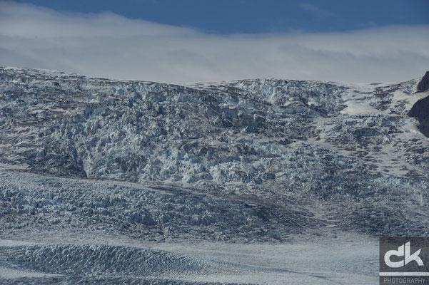 Der Gletscher am Fjallsárlón