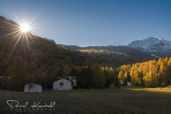 Sonnenaufgang am Piz Surlej, Silvaplana