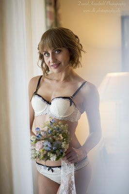 Bridal Boudoir Shooting mit Nelly Stanewa, Model