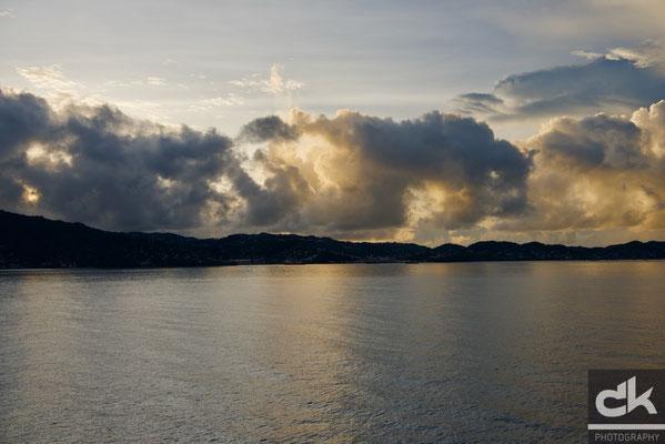 Sonnenaufgang über Grenada