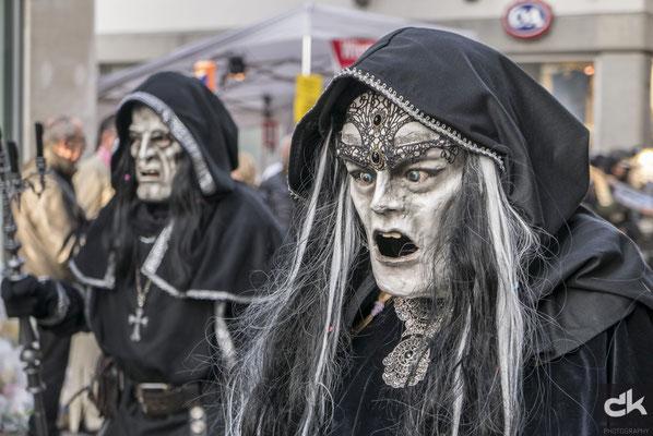 Rätsch Häxe am Umzug der Kult-Ur-Fasnächtler am RüSa
