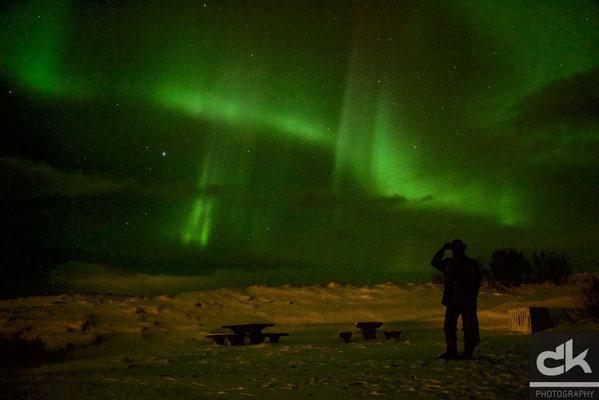 Aurora Borealis bei Sauðarkrókur
