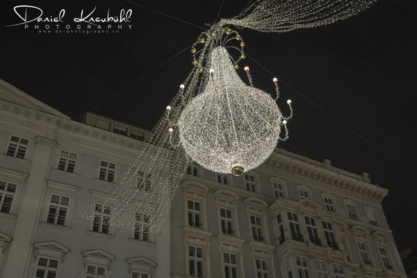 Weihnachtsbeleuchtung am Graben, Wien