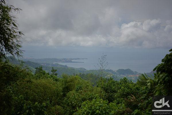 Panorama nach St. George's