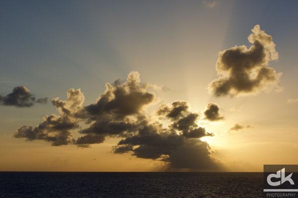 Sonnenuntergang bei St. Barth