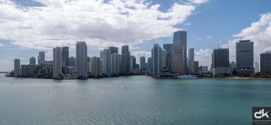 Miami Downtown vom Schiff aus